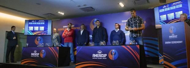 Se llevó a cabo el sorteo de Grupos de la AmeriCup