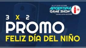 ¡Festejá el día del niño con esta promo para vivir el Argentina Game Show Coca-Cola For Me!