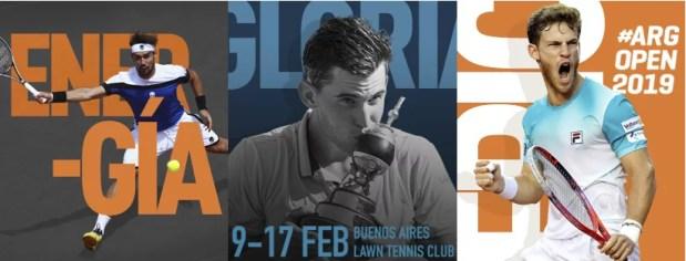 El Argentina Open arranca el 2019 con cuatro  Top 20: Thiem, Fognini, Schwartzman y Cecchinato