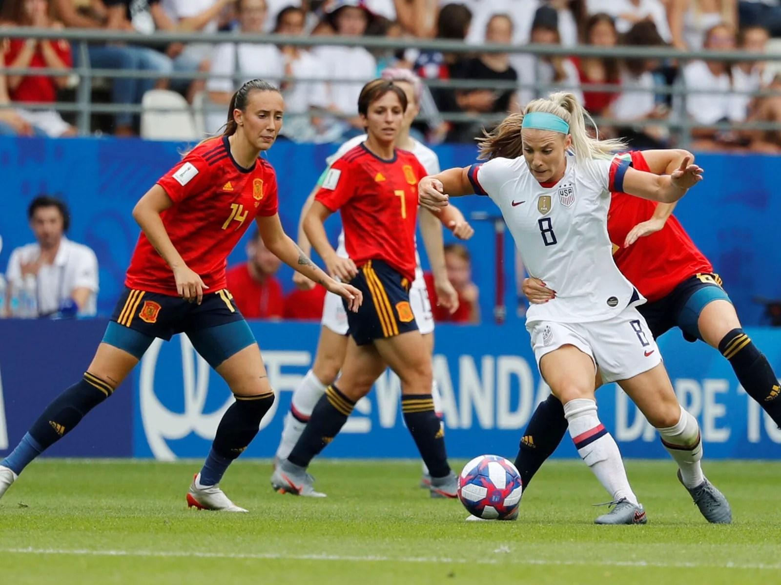 La Selección Española Femenina cae eliminada en octavos de final del Mundial frente a la vigente campeona, Estados Unidos.