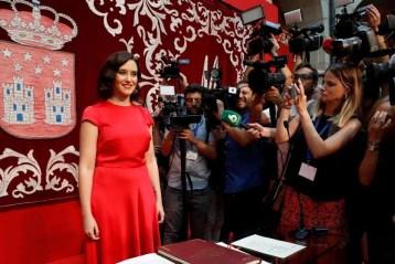 Ayuso gobernará la Comunidad de Madrid en coalición con Ciudadanos. Este ha sido el reparto de los Consejeros Comunidad de Madrid.