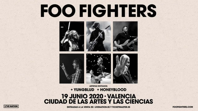Foo Fighters concierto valencia