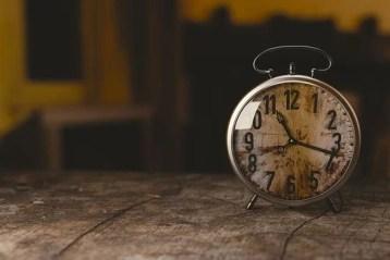 gestión del tiempo en el entorno