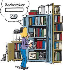 """Résultat de recherche d'images pour """"recherche en bibliothèque humour"""""""
