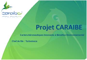 Infodream est membre du projet CARAIBE : Carters Aeronautiques Innovants Benefices Environnemental