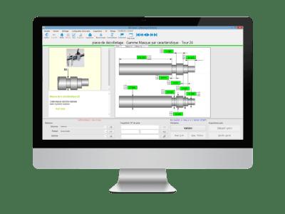 SPC Vision es tun logiciel SPC pour le contrôle qualité.