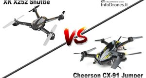 XK X252 Shuttle vs Cheerson CX-91 Jumper