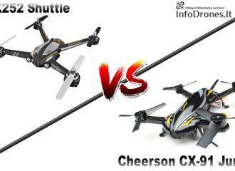 XK X252 Shuttle vs Cheerson CX-91 Jumper