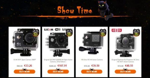 epic-hallowen-sale-gearbest-sconti-droni-action-cam