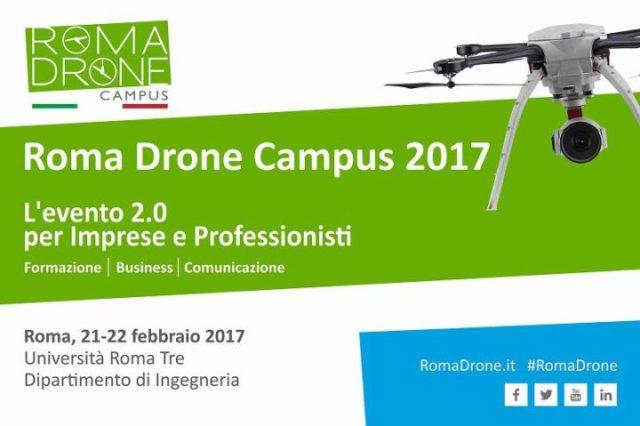 Roma Drone Campus 2017-eventi-roma-droni