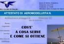 Attestato di Aeromodellista: Cos'è e a cosa serve