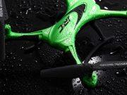 recensione jjrc h31-drone resistente all'acqua-drone impermabile-contenuto della confezione-prova