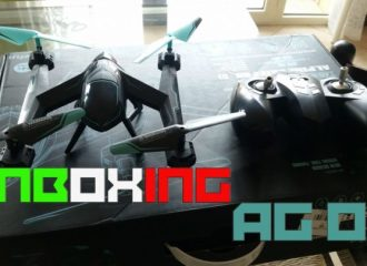 UNBOXING zowfun AG-01 ita GEARBEST