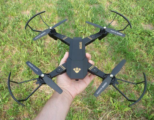 recensione visuo tianqu xs809w-mavic economico-drone giocattolo-drone camera