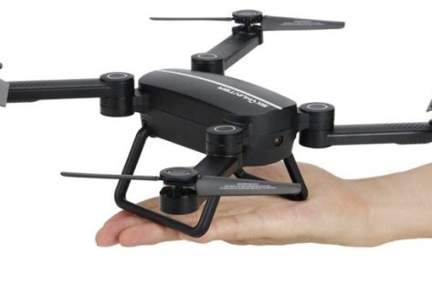 recensione JIE-STAR X8TW-coupon sconto-drone pieghevole