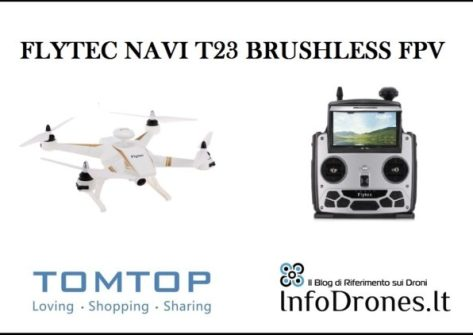 recensione navi t23 brushless fpv rc coupon tomtop