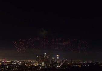 300 droni wonder woman los angeles