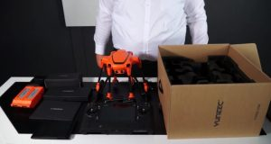unboxing yuneec typhoon h520-yuneec europa-nuovo drone yuneec