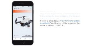 come fare aggiornamento droni dji-aggiornamento dji go 4-aggiornare dji spark dji go 4-tutorial dji spark aggiornamento firwmare