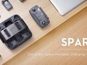 dji spark tutorial-come utilizzare il caricatore portatile-stazione di carica portatile dji spark
