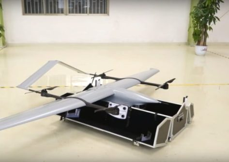 drone ZEROTECH ZT-10V VTOL UAV