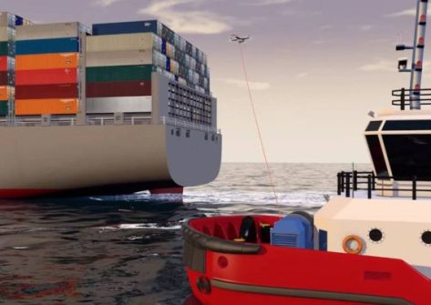 droni su navi da trasporto-kotug droni nave