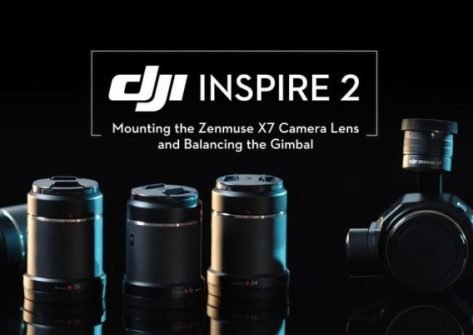 DJI Inspire 2 videocamera Zenmuse X7