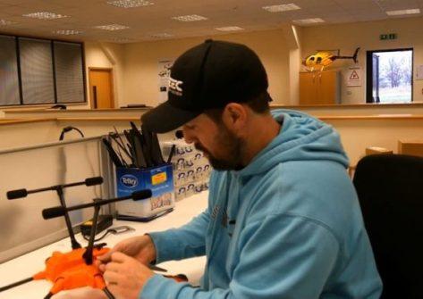 Dan's Top Tips Episodio 9 sostituire gambe retrattili H520