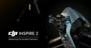 Tutorial DJI Inspire 2 sostizione ammortizzatori gimbal