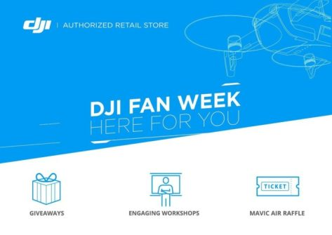 drone dji mavic air-concorso dji fan week