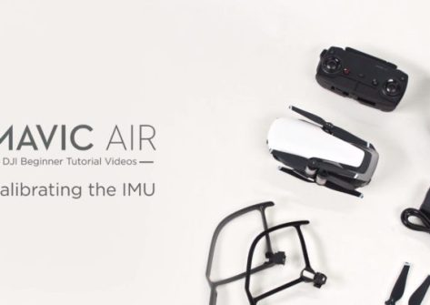 tutorial come calibrare imu su dji mavic air-calibrazione imu dji mavic air
