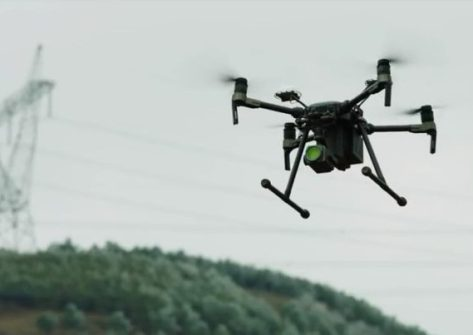 Drone DJI M200 ispezione linee elettriche