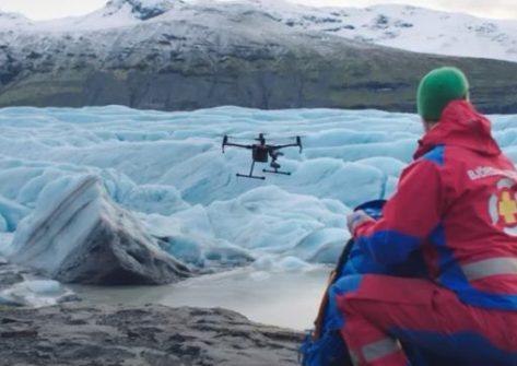 Drone DJI M200 ricerca e soccorso