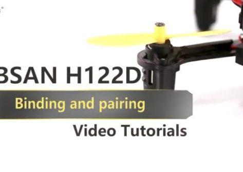 Hubsan H122D accoppiamento a vari dispositivi