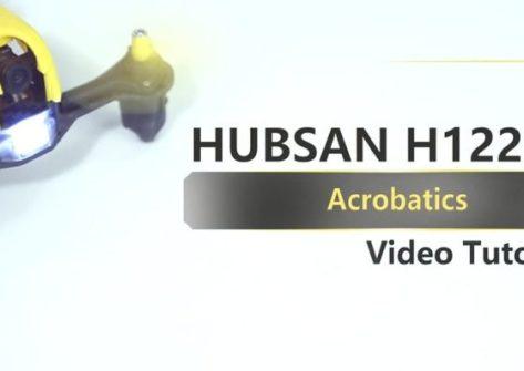 Hubsan H122D acrobazie aeree