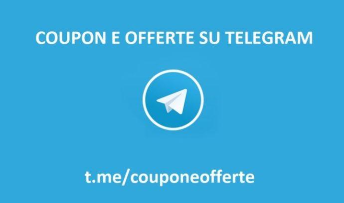 telegram offerte coupon amazon