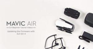 tutorial dji-come aggiornare il firmware dji mavic air-aggiornamento firmware dji mavic