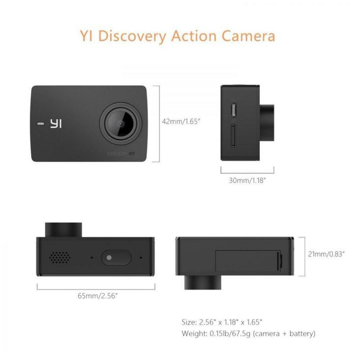 Yi Discovery 4K caratteristiche