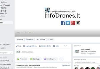 forum drone facebook-gruppo facebook droni
