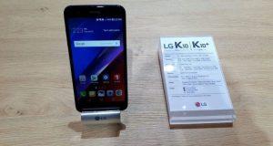 nuovo smartphone lg k10 2018 mwc barcellona