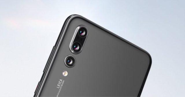 huawei p20 pro-smartphone con 3 fotocamer