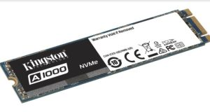 kingstone PCIe NVMe A1000