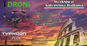 Evento Idroni Typhoon H Plus Roma