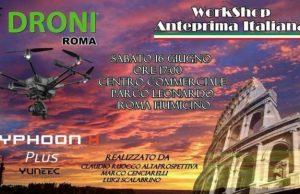 Evento Idroni Typhoon H Plus Roma