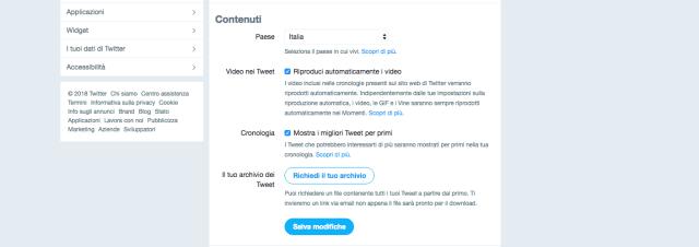 come cambiare nome su Twitter guida
