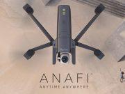 drone parrot anafi - concorrente dji mavic