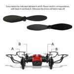 mini drone pieghevole Hasakee confezione