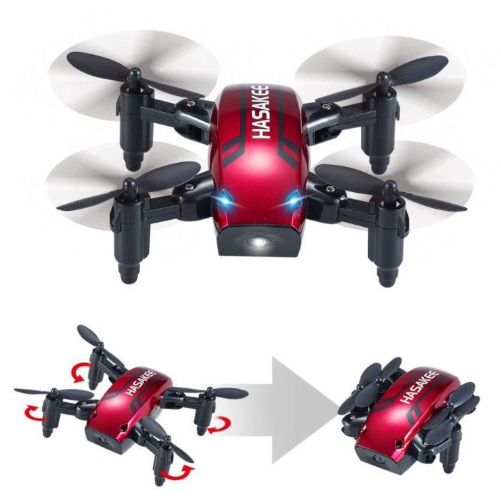 mini drone pieghevole Hasakee