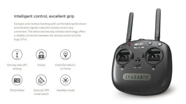 radiocomando mjx bugs 3 pro caratteristiche tecniche