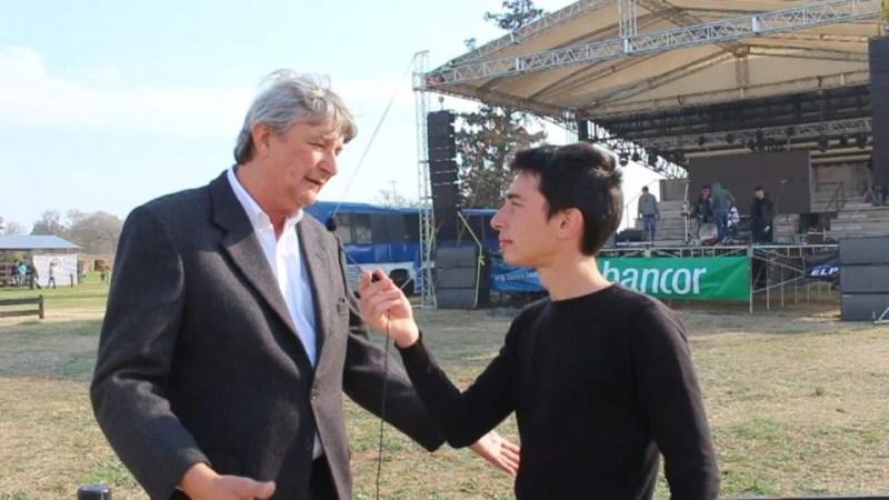 Con un aporte y un encendido discurso, Carlos Peiretti participó del acto inaugural de la 66° Expo Rural de Canals